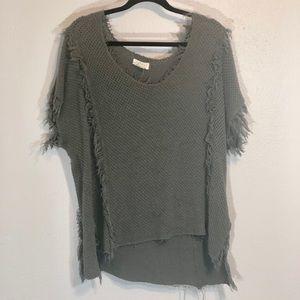 Velvet by Graham & Spencer m asymmetrical sweater